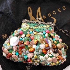 MARY FRANCES Ornate Beaded Bag